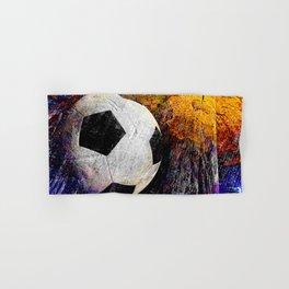 Soccer ball vs 7 Hand & Bath Towel