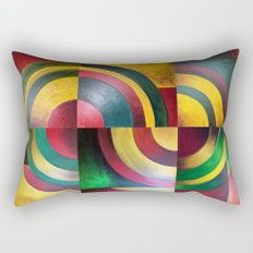 Miguez Art Abstract 1 Rectangular Pillow