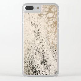 Jour d'or Clear iPhone Case