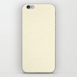Melange - White and Blond Yellow iPhone Skin