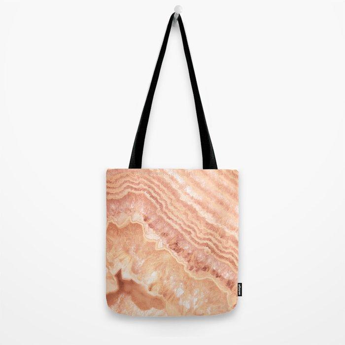 Champagne onyx marble Tote Bag