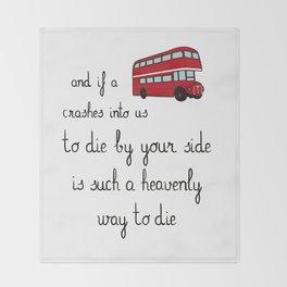 The Smiths Throw Blanket