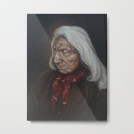 Red Cloud Metal Print
