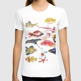 Fishy gathering T-shirt