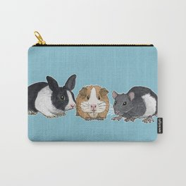 Dwarf rabbit, guinea pig and rat Carry-All Pouch