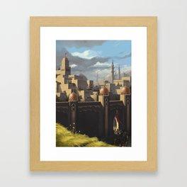 """Amin al Joddah """"The Jewel of the Desert"""" Framed Art Print"""