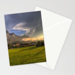 Saint Lorenz Austria Sunset Stationery Cards