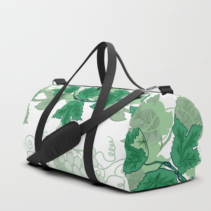 Abstract frame from grapevines Duffle Bag