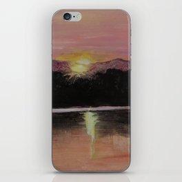 Grundy Lake Sunset iPhone Skin