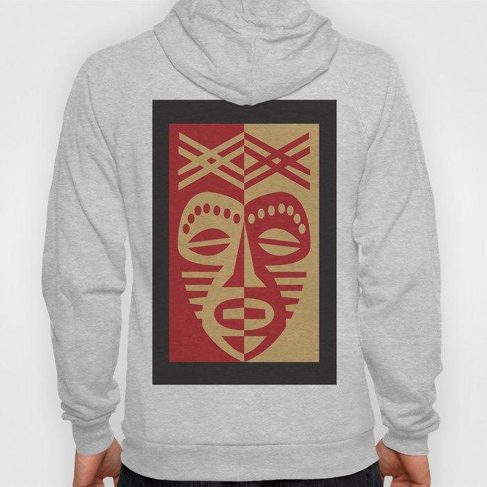 African Tribal Mask No. 3 Hoody