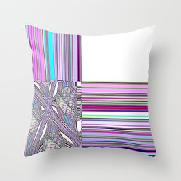 Re-Created Southern Cross XXX by Robert S. Lee Throw Pillow