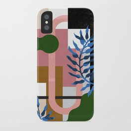 Leather Fern iPhone Case