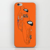 general iPhone & iPod Skins featuring General Lee by Martin Lucas