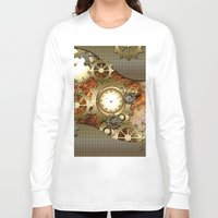 steampunk Long Sleeve T-shirts featuring Steampunk by nicky2342