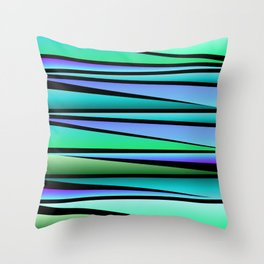 Shards Throw Pillow