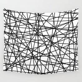 Abstract Lines Wall Tapestry