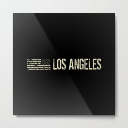 Black Flag: Los Angeles Metal Print