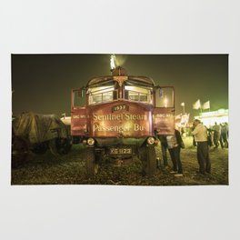 Sentinel Steam Bus by night  Rug