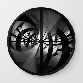 Ghost in the Machine Wall Clock