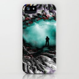 Light on the other side iPhone Case