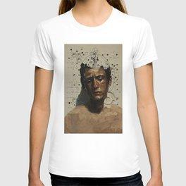 Sad Boy Portrait T-shirt