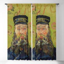 The Postman (Joseph Roulin) by Vincent Van Gogh Blackout Curtain