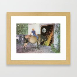 Country Boy Framed Art Print