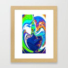Fear of Being Afraid  Framed Art Print