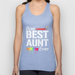 Bae Best Aunt Ever T-shirt Unisex Tank Top