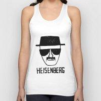 breaking Tank Tops featuring Heisenberg - Breaking Bad Sketch by Bright Enough💡