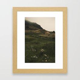 Holyrood Park 1 Framed Art Print