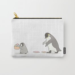 Chores (white background) Carry-All Pouch