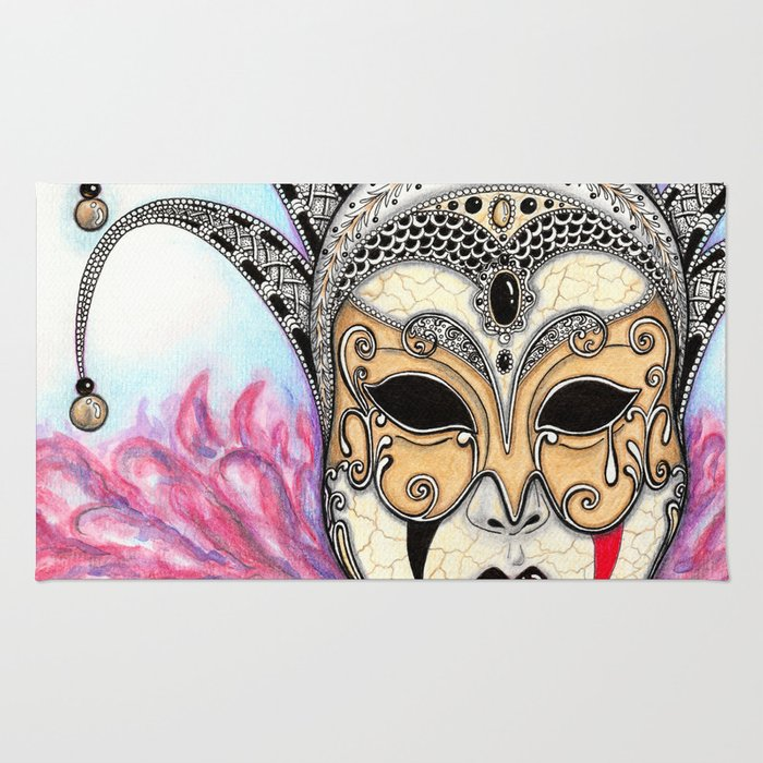 Máscara Veneciana Rug