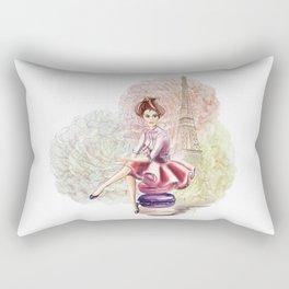 Sweet Paris Rectangular Pillow