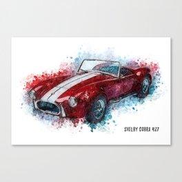 Shelby Cobra 427 Canvas Print