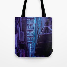 Tokyo Nights / Shadow of The Day / Liam Wong Tote Bag