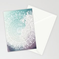 RAINBOW CHIC MANDALA Stationery Cards