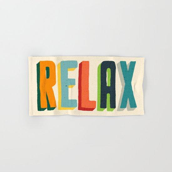 Relax Hand & Bath Towel