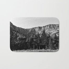 Black and White Katahdin Bath Mat