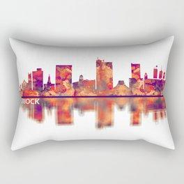 Lubbock Skyline Rectangular Pillow