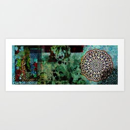 Persian Pattern Art Print