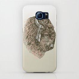 Buffalo Portrait iPhone Case