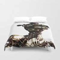 robot Duvet Covers featuring robot by Кaterina Кalinich