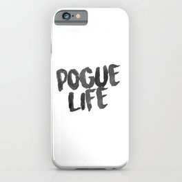 Pogue Life Outer Banks iPhone Case