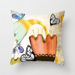 RUPYDETEQUILA ART 2019 - PERÚ Throw Pillow