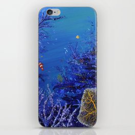Coral Beauty iPhone Skin