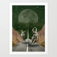 """Dancers"" Art Print"