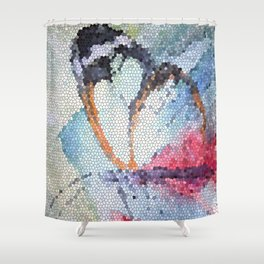 Butterfly 10 Shower Curtain
