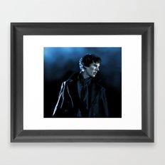 Sherlock in the unaired pilot Framed Art Print