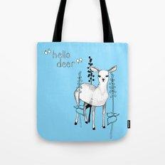 hello deer! Tote Bag
